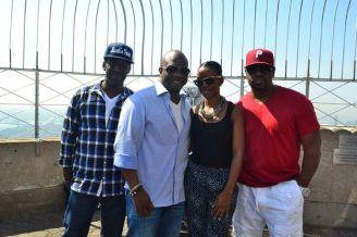 Vee with Boyz II Men