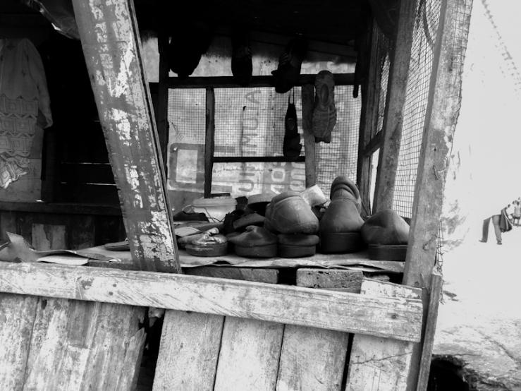 a shoemaker's shop